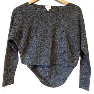 WILFRED | Crop scoop neck hi/lo sweater